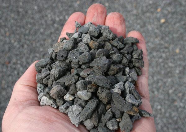 aggregates hand