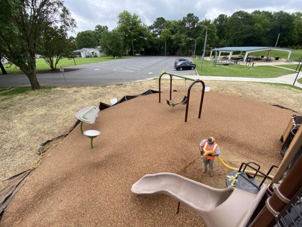 playground mulch services charlotte nc