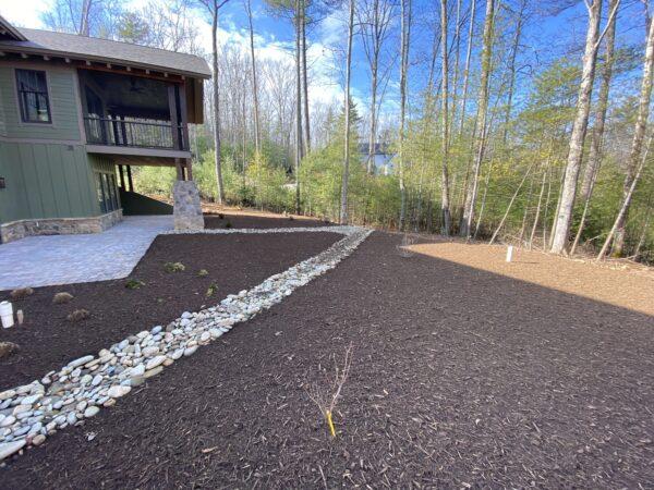 residential mulch huntersville nc